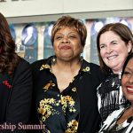 Ola Truelove, Debra Bronston, Esther L. George and Ida McBeth
