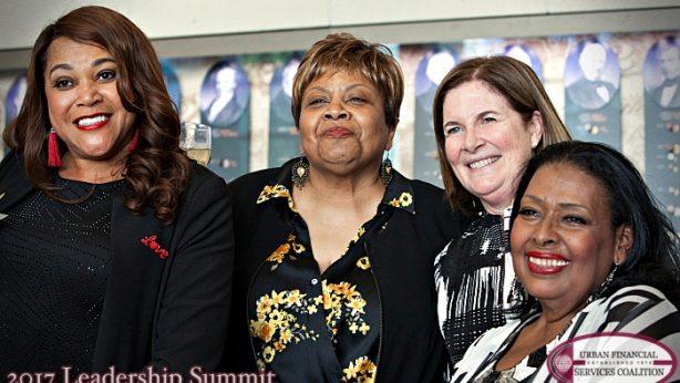 Ola Truelove, Debra Bronston, Esther L. George and Ida McBeth